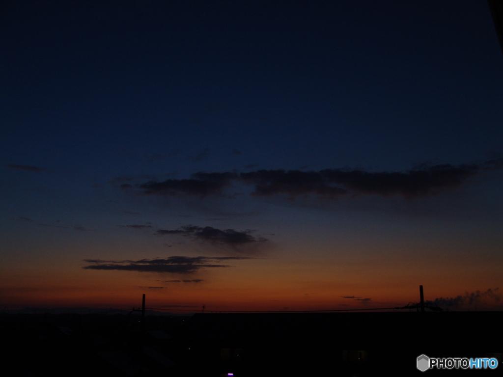 2021/2/14 朝不穏な雲