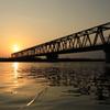 久慈川の鉄橋