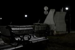 夜散歩 河原子海岸 2020.12.01
