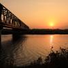 久慈川の鉄橋2