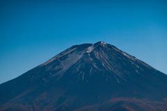 早秋の富士