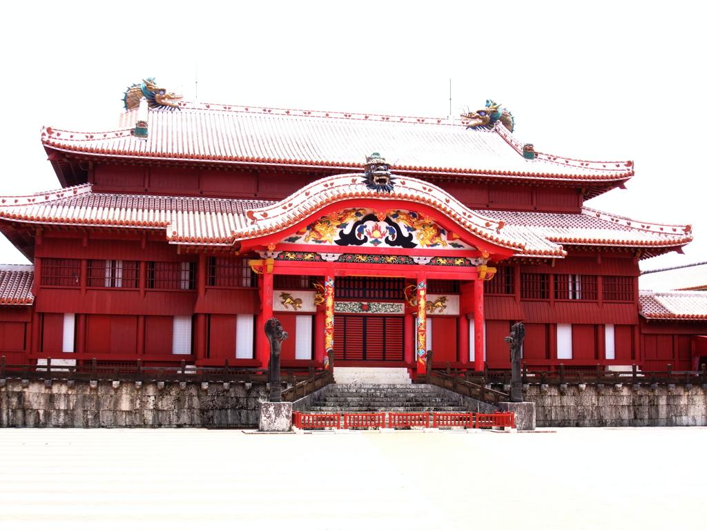 首里城の正殿