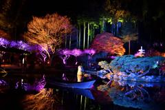 秋保ナイトミュージアム 和舟の景