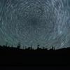 朽ち木と北天の星