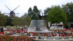 アンデルセン公園・銅像