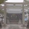 寺 雨 風景