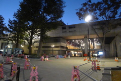 上野をさんぽ 工事中3