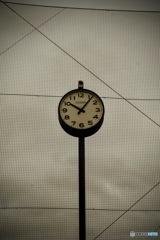 メッシュ網 と時計!!