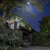 岡口門と隠れ月