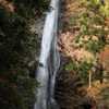 秋の原不動滝 中段部分
