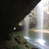 龍頭ヶ滝 雄滝の裏