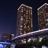 芝浦マンションと東京モノレールの光芒