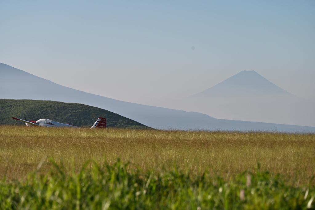 静かな高原の朝