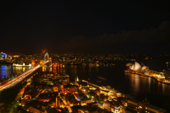The Night View of Sydney