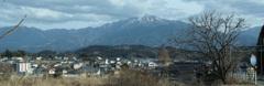 257号線からの恵那山