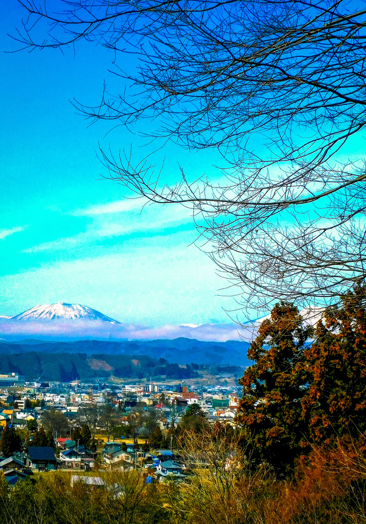 黒姫山のある日常