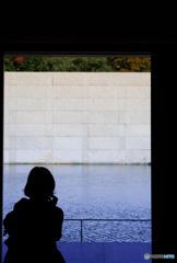 鈴木大拙館ー6(思索空間、水鏡の庭)