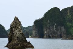 三四郎島から臨む