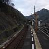 土讃線・祖谷口駅。