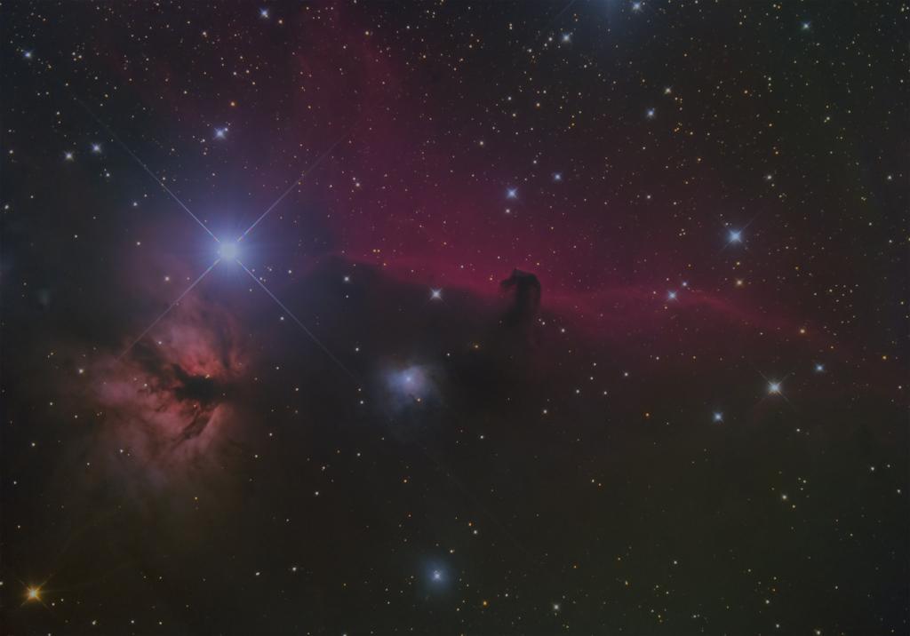 カイヤン二世さんから提供していただいた馬頭星雲
