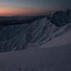 五竜岳の目覚め