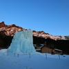 赤岳鉱泉の夕暮れ