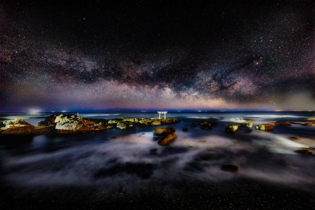 神磯の銀河