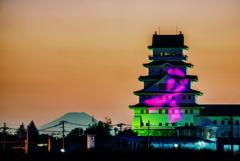 富士と城 3
