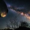 宇宙を映す鏡(カーブミラー)