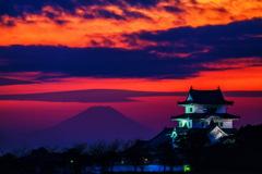 富士と城 1