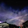 月虹と繁星雷鳴の夜