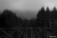 霧が上がる
