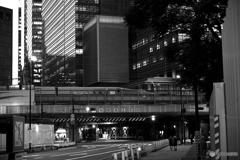 常葉橋からの夕景