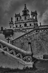 Panjim Church, Goa - Monochrome 1