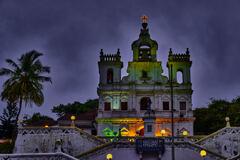 Panjim Church, Goa - Night