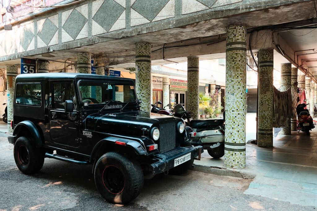 Indian Jeep. Mahindra THAR