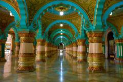 Maharajan palace in Mysore 2