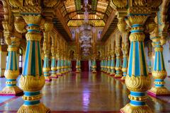 Maharajan palace in Mysore 3