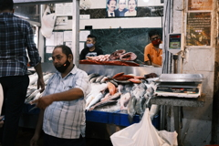 INA market -Fish shop