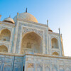 Taj Mahal and morning