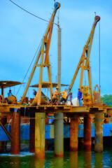 Men at Goa port