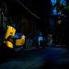 路地裏のレモン