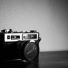 実家にあった古いカメラ。