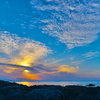 磯場からの雲