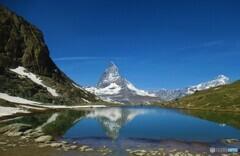 upside-down Matterhorn