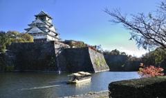 大阪城の秋
