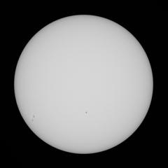 太陽 10月24日