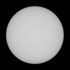 太陽 10月14日