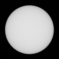 太陽 10月20日