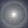 太陽 5月26日 笠をかぶったお天道様